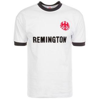 Scoredraw Eintracht Frankfurt 1974 Fußballtrikot Herren weiß / schwarz