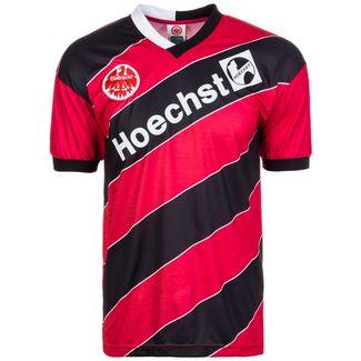 Scoredraw Eintracht Frankfurt 1988 Heim Fußballtrikot Herren rot / schwarz / weiß