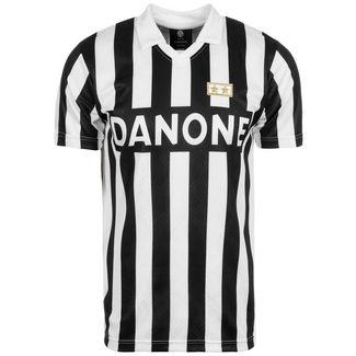 Scoredraw Juventus Turin 1993 UEFA Cup Finale Fußballtrikot Herren schwarz / weiß