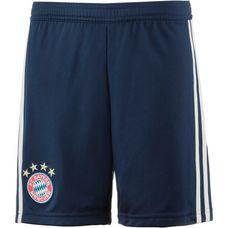 adidas FC Bayern 18/19 Heim Fußballshorts Kinder collegiate navy