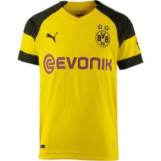 PUMA Borussia Dortmund 18/19 Heim Fußballtrikot Kinder cyber yellow