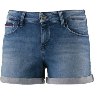 Tommy Jeans Jeansshorts Damen newport mid blue