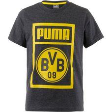 PUMA Borussia Dortmund T-Shirt Kinder dark gray heather