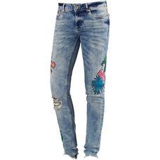 Superdry Skinny Fit Jeans Damen breeze blue