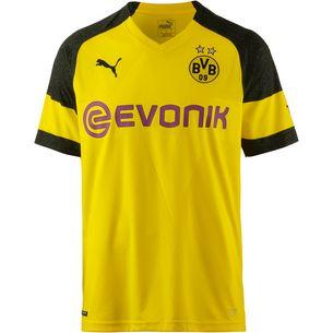 PUMA Borussia Dortmund 18/19 Heim Fußballtrikot Herren cyber yellow