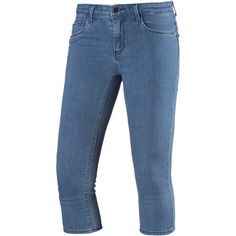 Only 3/4-Jeans Damen medium blue denim