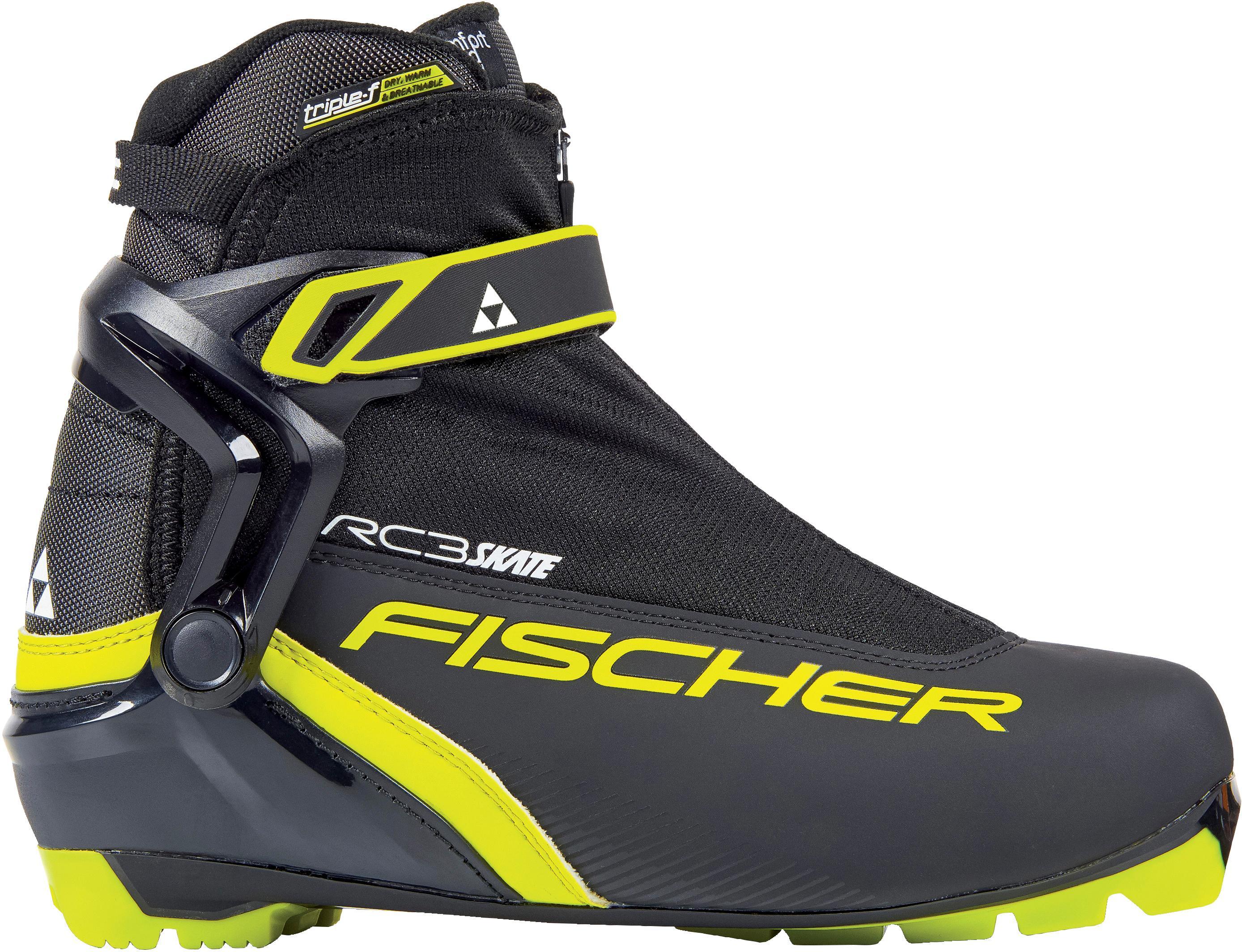 Fischer RC3 SKATE Langlaufschuhe Schwarz Gelb im Online Shop von SportScheck kaufen Gute Qualität beliebte Schuhe