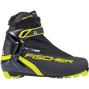 Fischer RC3 SKATE Langlaufschuhe Schwarz/Gelb