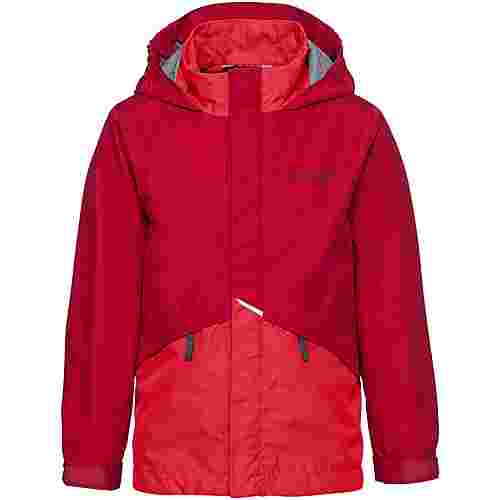 VAUDE Escape Light III Wassersäule 10000mm Regenjacke Kinder indian red