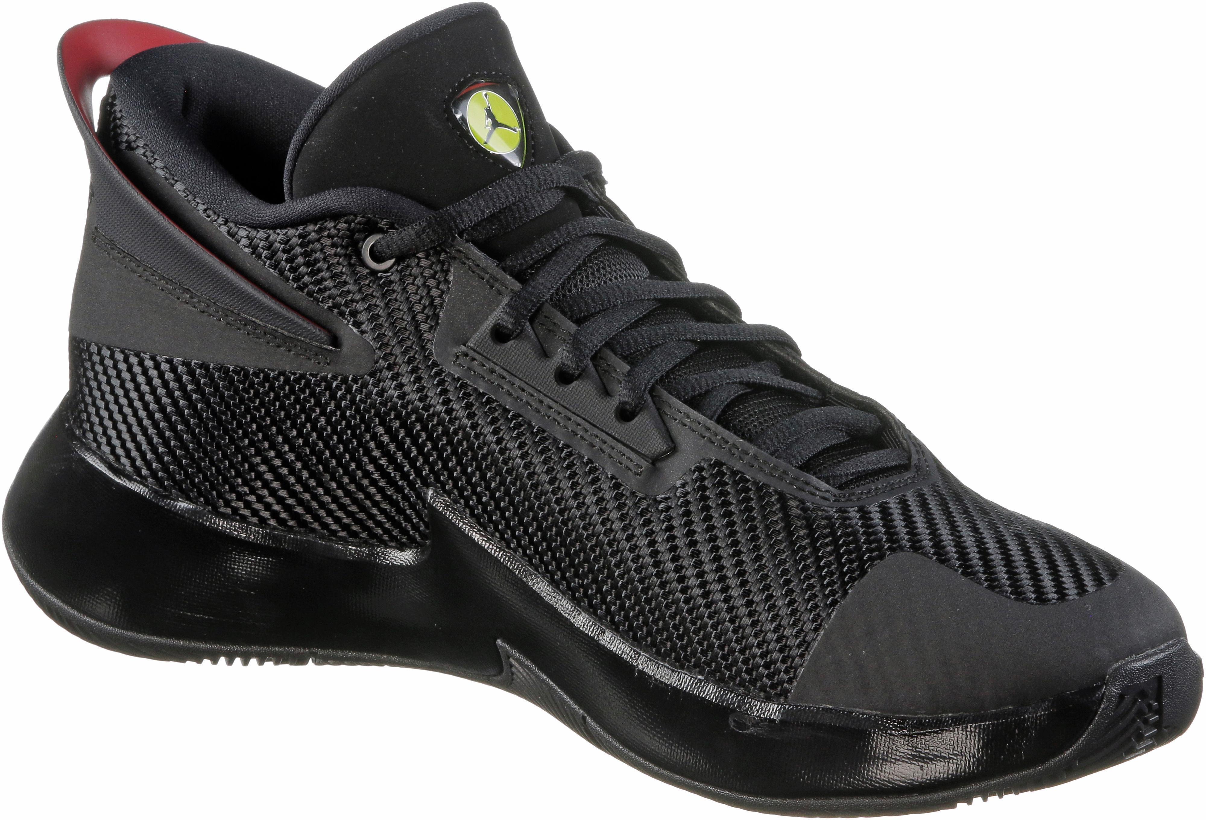 new style cd111 4fee5 Nike JORDAN FLY LOCKDOWN Basketballschuhe Herren black-varsity red im  Online Shop von SportScheck kaufen