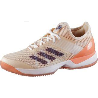 buy online 2cb0a 50248 adidas French Open adizero ubersonic 3 Tennisschuhe Damen ecru tint-noble  indigo-chalk coral