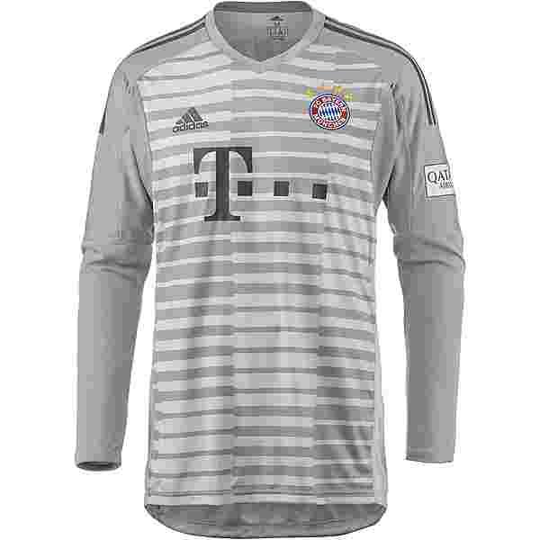 adidas FC Bayern 18/19 Heim Torwarttrikot Herren grey one