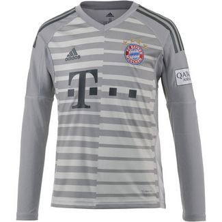 adidas FC Bayern 18/19 Heim Torwarttrikot Kinder grey one