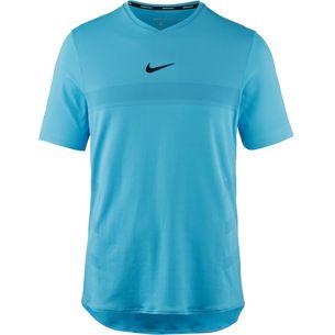 Nike RAFA M NKCT ARORCT TOP SS Tennisshirt Herren LAGOON PULSE/LAGOON PULSE/(BLACK)