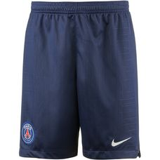 Nike Paris Saint-Germain 18/19 Heim Fußballshorts Kinder midnight navy-white