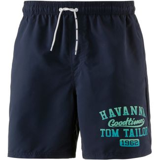 TOM TAILOR Justin Badeshorts Herren blue nights