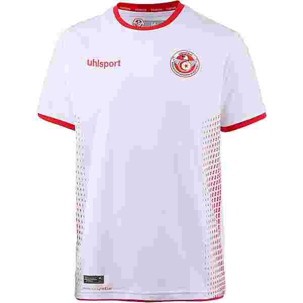 Uhlsport Tunesien 2018 Heim Trikot Herren weiß-rot