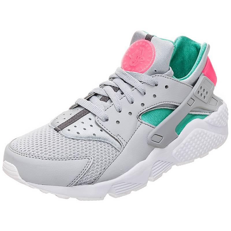 cheap for discount e8b32 66cc3 denmark nike air huarache sneaker herren grau grün pink 09b13 4d88f