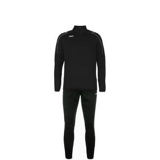 JAKO Classico Trainingsanzug Kinder schwarz / weiß