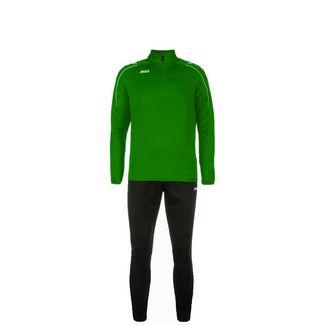 JAKO Classico Trainingsanzug Kinder grün / schwarz
