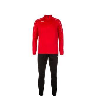 JAKO Classico Trainingsanzug Kinder rot / schwarz
