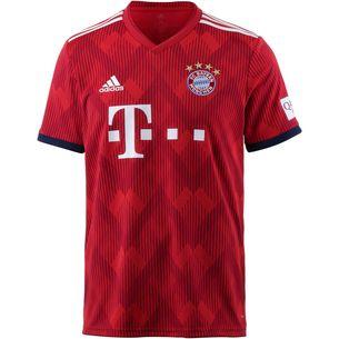 adidas FC Bayern 18/19 Heim Fußballtrikot Herren FCB TRUE RED
