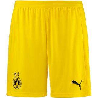 PUMA Borussia Dortmund 18/19 Auswärts Fußballshorts Herren cyber yellow