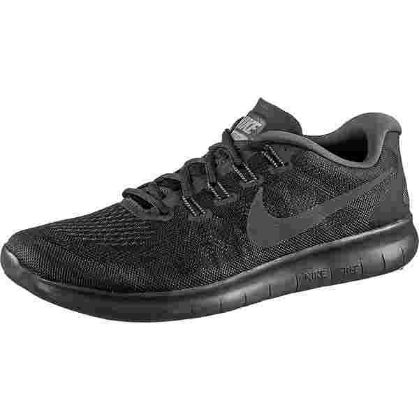 Nike FREE RN 2017 Laufschuhe Herren black-anthracite-dark-grey-cool-grey