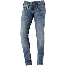 Herrlicher Slim Fit Jeans Damen fringe