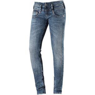 Herrlicher Skinny Fit Jeans Damen fringe
