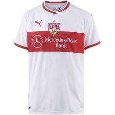 PUMA VfB Stuttgart 18/19 Heim Fußballtrikot Herren puma white-ribbon red
