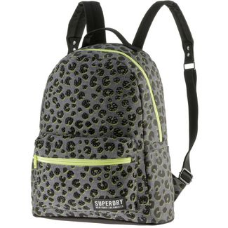 Superdry Rucksack Daypack Damen grey marl tropics animal