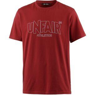 Unfair Athletics T-Shirt Herren red