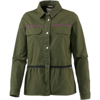 TOM TAILOR Kurzjacke Damen summer-leaf-green