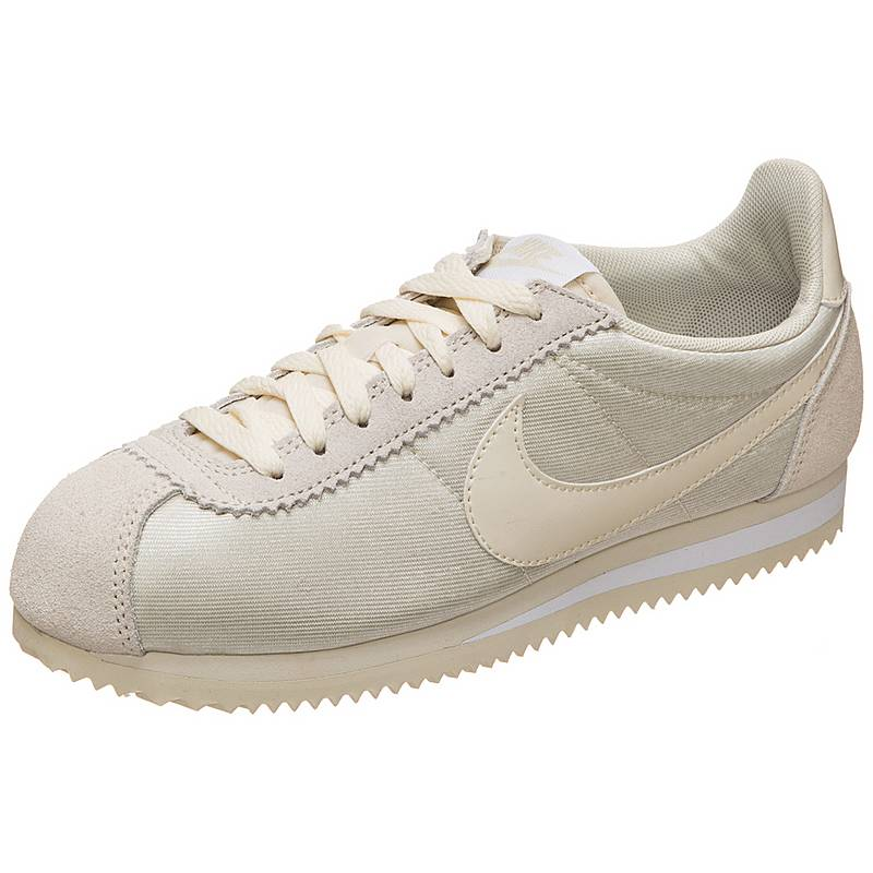 Nike Classic Cortez Nylon Sneaker Damen grau   weiß im Online Shop ... 738f0dce53