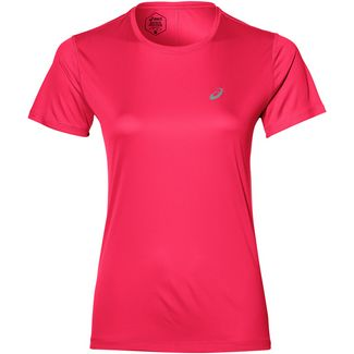 ASICS Silver Laufshirt Damen pixel pink