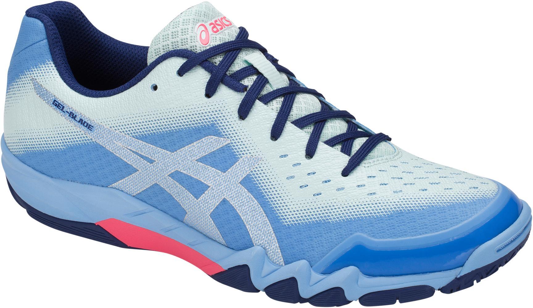 ASICS GEL-BLADE 6 Hallenschuhe Damen Blau bell-silver im Online Shop von SportScheck kaufen Gute Qualität beliebte Schuhe