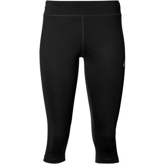 ASICS Silver Lauftights Damen performance black