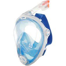 Aqua Sphere Full Face Taucherbrille blau/weiss