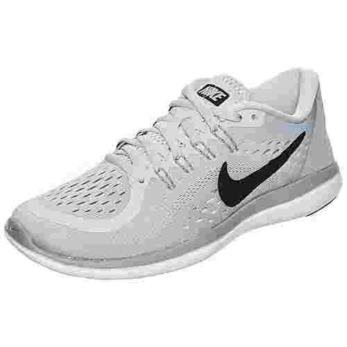 Nike Flex 2017 RN Laufschuhe Damen hellgrau / schwarz im Online Shop von  SportScheck kaufen