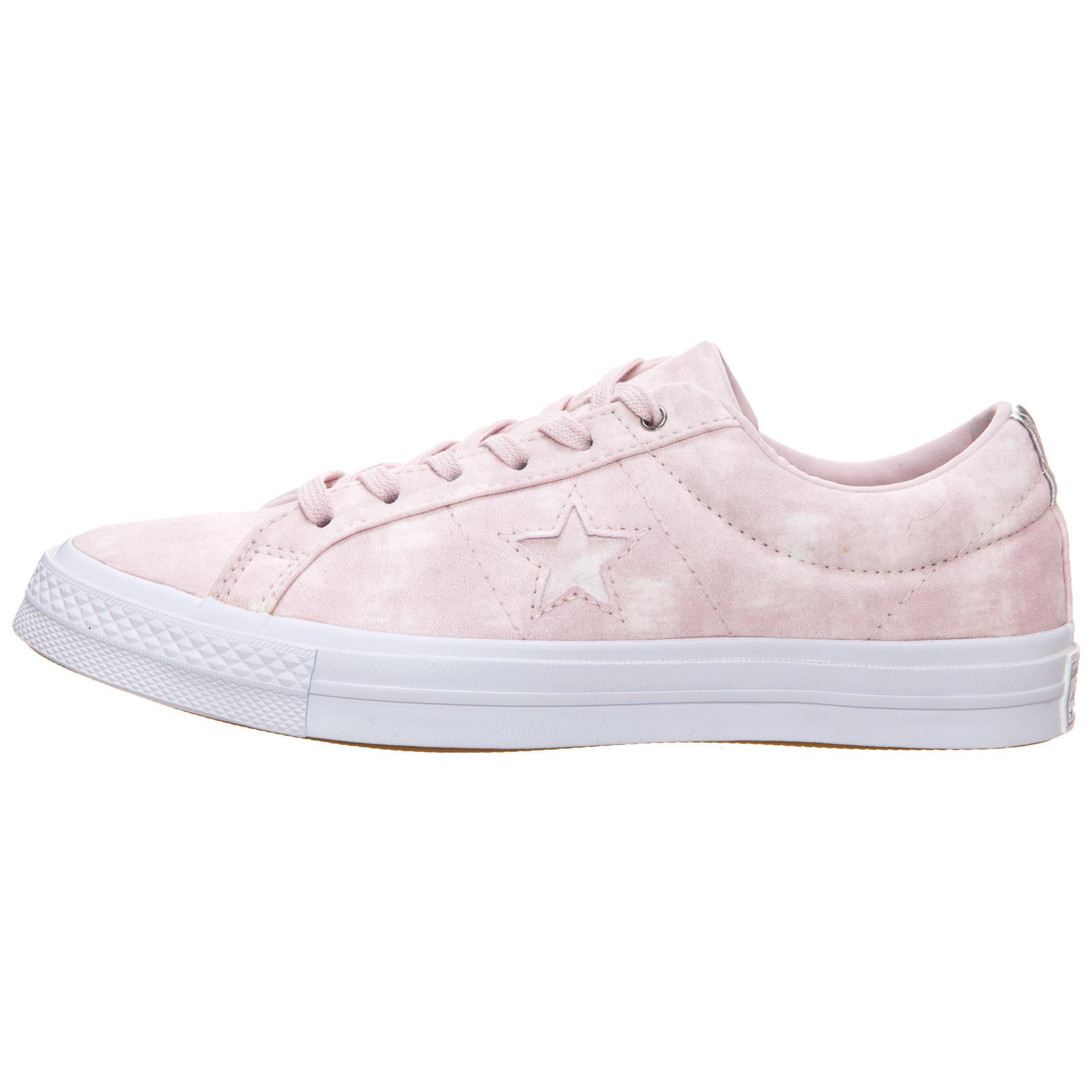 CONVERSE Cons One Star Peached Wash Turnschuhe Damen Damen Damen Rosa   silber im Online Shop von SportScheck kaufen Gute Qualität beliebte Schuhe bff13a