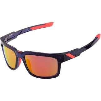 ride100percent Type S HD Red Multilayer Mirror Sportbrille Anthem