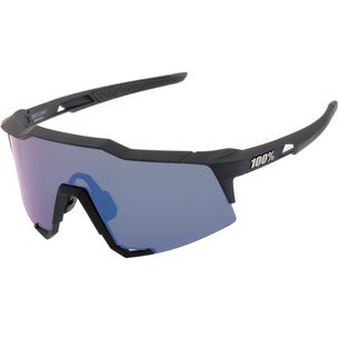 ride100percent Speedcraft Tall Mirror Lens Sportbrille Soft Tact Black