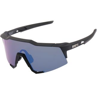 ride100percent Speedcraft Tall Mirror Lens Sportbrille Soft Tact Black