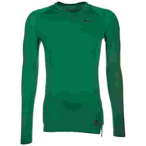 Nike Pro Dry Compression Kompressionsshirt Herren grün / schwarz