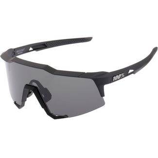 ride100percent Speedcraft Tall Smoke Lens Sportbrille Soft Tact Black
