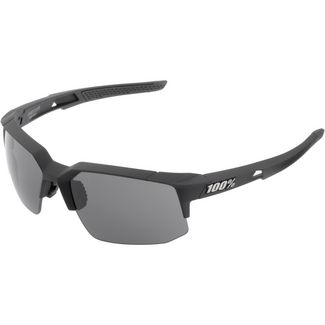 ride100percent Speedcoupe Smoke Lens Sportbrille Soft Tact Black