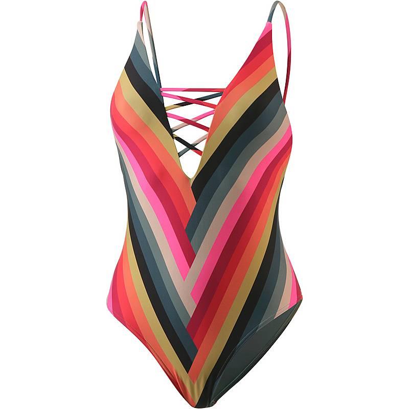 Billabong Color Spell Badeanzug Damen Coral Pink Im Online Shop Von