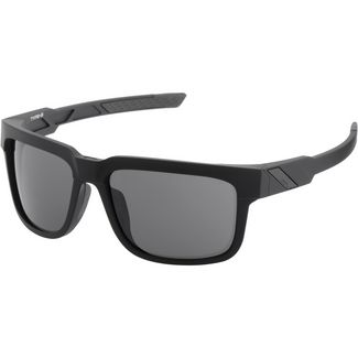 ride100percent Type S Smoke Lens Sportbrille Soft Tact Black
