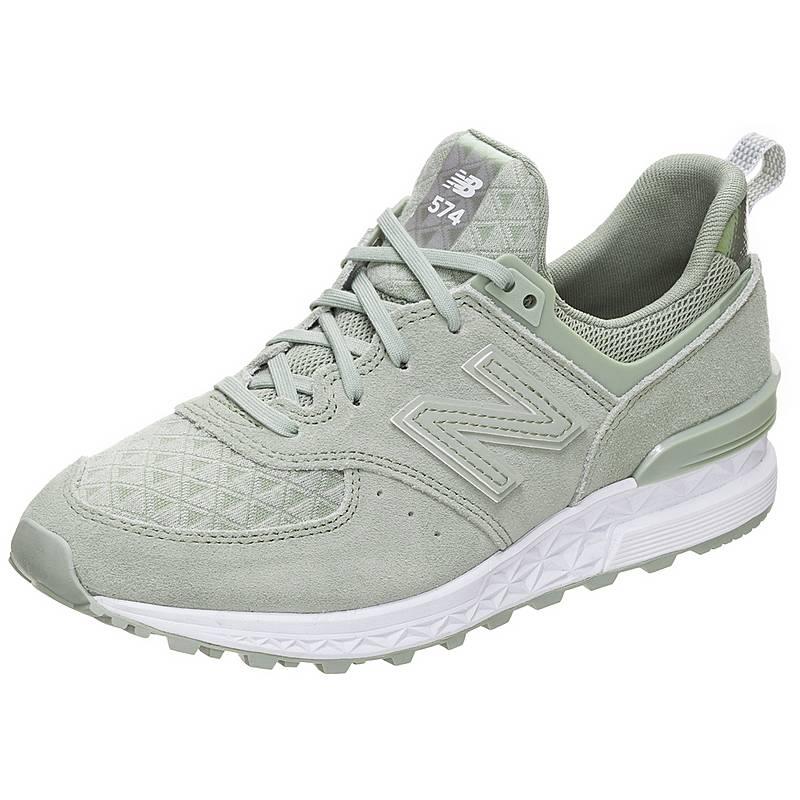 1d5f3e63591ff8 NEW BALANCE WS574-SND-B Sneaker Damen grün   weiß im Online Shop von ...